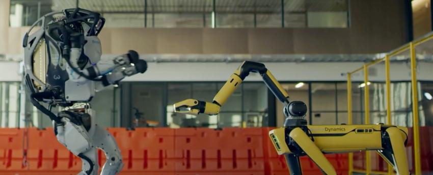 Dancing robots and Boston Dynamics