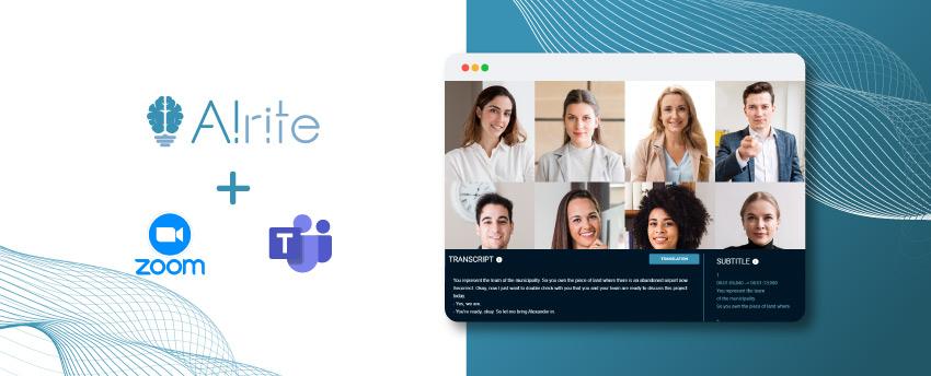 Transkribieren und untertiteln Sie Ihre Zoom und Microsoft Teams Meetings ganz einfach!