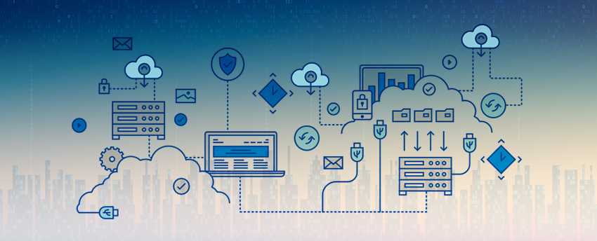 Breakthrough in enterprise information technology: hybrid cloud