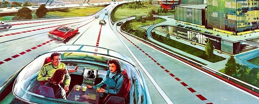 Egy világ, ahol a csomagok 80%-át automata járművek szállítják ki