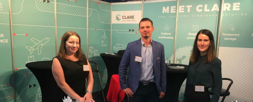 CLARE premier a Transport Compleet GO 2018 kiállításon