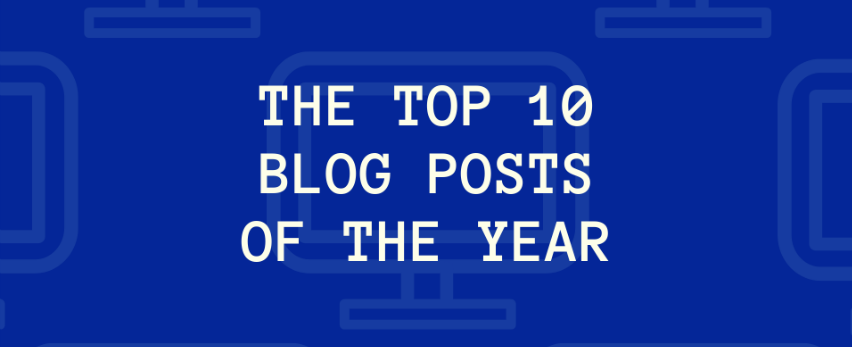 Top 10 tech blog posts of 2018