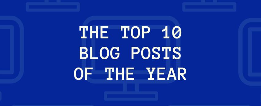 2018 tíz legjobb technológiai blogbejegyzése