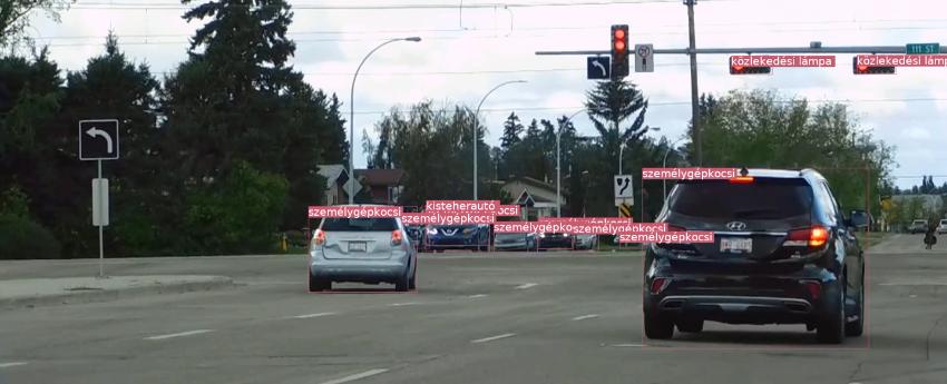 Objektum felismerő (képfelismerő) AI megoldásunk - bemutató videó