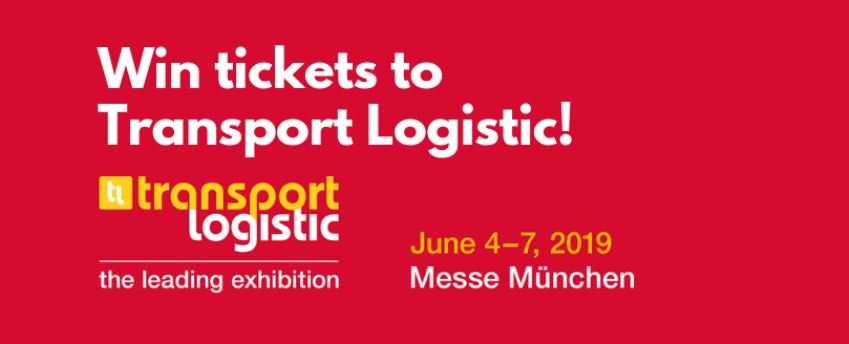 Win tickets to Transport Logistic 2019!